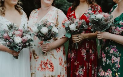 Relaxed outdoor wedding with a vintage vibe – just lovely! June 2019