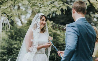 Fairy-Tale Wedding in a Secret Garden